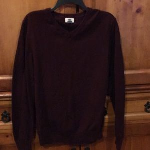 Men's old navy maroon sweater - medium